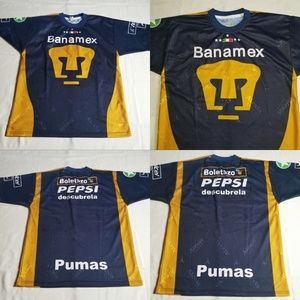 Pumas Banamex Mexico Alexis Soccer Jersey Pepsi Bo